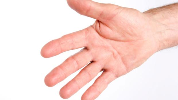 Une main d'homme