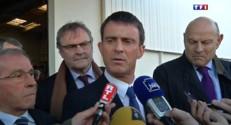 """Barrage de Sivens : """"Il faudra très vite évacuer les lieux"""" selon Valls"""