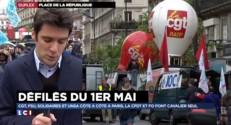 """Défilés du 1er mai : """"Les syndicats avancent en ordre dispersé"""""""