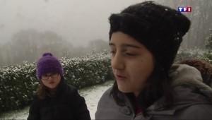 Des plus grands aux plus petits, la neige fait des heureux dans le village de Saint-Sylvestre