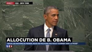 """Paix : Obama appelle à la collaboration mondiale, sinon """"nous ne réussirons pas"""""""