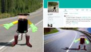 Hitcbot, le robot auto-stoppeur qui traversera le Canada