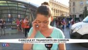 Alerte à la canicule : à Paris, les usagers des transports prennent leurs précautions