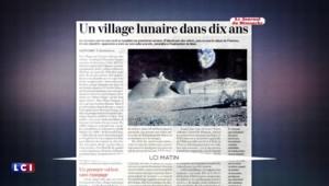Bientôt un village habité sur la Lune ?