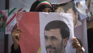 iran ahmadinejad supportrice