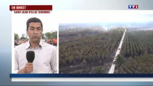 "Le 13 heures du 27 juillet 2015 : Incendie en Gironde : ""On reste prudent"" chez les soldats du feu - 273"