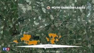 Notre-Dame-des-Landes carte aéroport