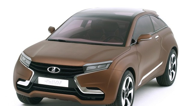 Lada XRAY Concept 2012