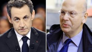 Photo-montage : Nicolas Sarkozy et Patrick Buisson