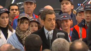 Sarkozy avec la France des travailleurs