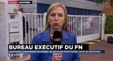 """FN : Jean-Marie Le Pen """"refuse de se rendre au bureau exécutif"""""""