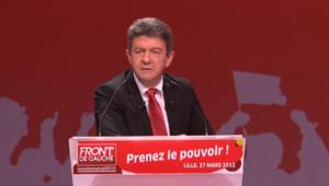 Jean-Luc Mélenchon à Lille PS Front de gauche