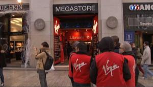 Les magasins Virgin près de la cessation de paiement