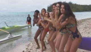 Les Miss à Tahiti, épisode 7 : haka et pirogue, les prétendantes se lâchent