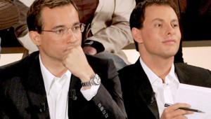 Marc-Olivier Fogiel et Jean-Luc Delarue