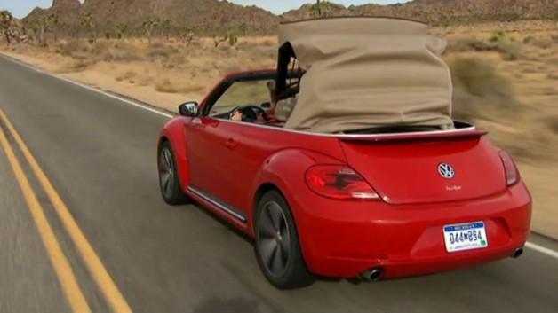 photos automoto les images de l 39 essai de la volkswagen coccinelle cabriolet mytf1. Black Bedroom Furniture Sets. Home Design Ideas