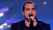 "Thomas Vaccari interprète en direct ""I believe I can fly"" de R.Kelly"