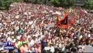 Des milliers de Vénézuéliens de nouveau dans la rue à Caracas