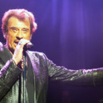 Johnny Hallyday sur scne  Londres le 15 octobre 2012