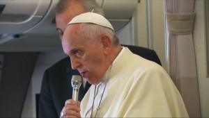 Le 20 heures du 20 janvier 2015 : Contrôle des naissance : la trivialité des paroles du pape François surprend - 768.7882565612792