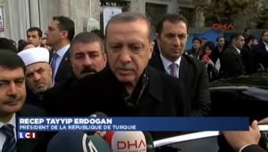 """Législatives en Turquie : """"La peuple a pris sa décision"""" se réjouit Erdogan"""