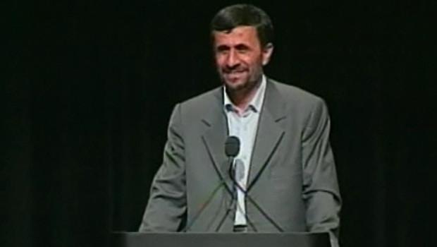 Mahmoud Ahmadinejad à Columbia