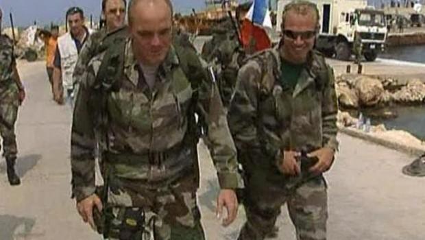 TF1/LCI Arrivée des soldats français au Liban