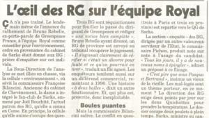 TF1/LCI L'article du Canard enchaîné concernant l'enquête des RG sur l'équipe Royal
