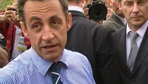 TF1/LCI : Nicolas Sarkozy à Meaux, pour une rencontre avec les habitants d'une cité (13 avril 2007)