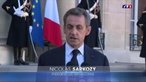Attentats du 13 novembre : le discours critique de Sarkozy après sa recontre avec Hollande