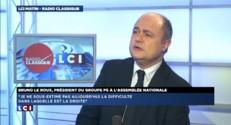 """Bruno Le Roux reproche à Trierweiler de transformer """"le mensonge en business juteux"""""""