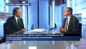 """Hervé Mariton : """"Nicolas Sarkozy n'a pas besoin de passer par la case parti"""""""