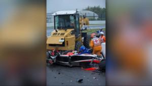 Le 20 heures du 5 octobre 2014 : Grave accident pour Jules Bianchi : le Grand Prix F1 du Japon fait d�t - 2125.064