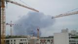 Un spectaculaire incendie ravage un entrepôt à Gennevilliers