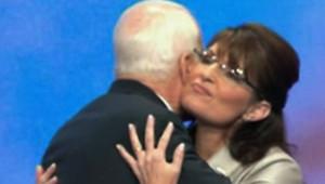 John McCain et Sarah Palin lors de la convention démocrate, le 3 septembre 2008