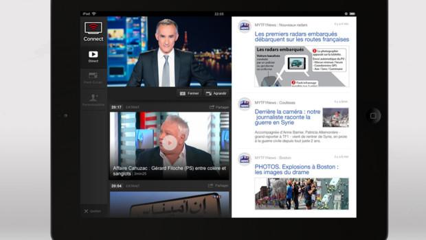 La fonction Connect sera bientôt disponible sur l'application MYTF1News.