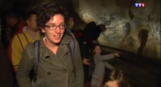 Le 20 heures du 25 avril 2015 : La réplique de la Grotte Chauvet a ouvert ses portes et ses fresques au public en Ardèche - 1384.602