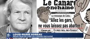 """""""Le Canard enchaîné"""" menacé : """"Dans les circonstances actuelles, on transmet les menaces"""""""