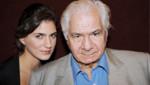 Michel Galabru et sa fille comédienne Emmanuelle Galabru.