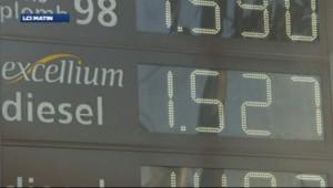 Pompe à essence : prix des carburants (archives)