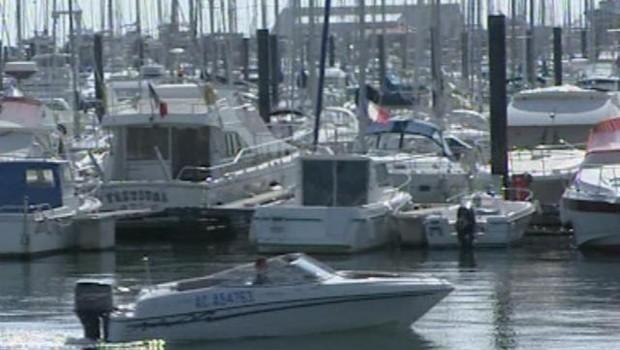 TF1/LCI : bateaux dans le port d'Arcachon