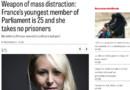 Article du New York Times consacré à Marion Maréchal-Le Pen, 23/3/15