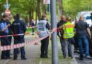 La police allemande sécurise les lieux après l'attaque au couteau d'un Irakien sur l'une des leurs, le 17 septembre 2015