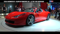 Salon de Francfort 2011 - Supercar n°2 : Ferrari 458