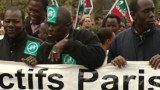"Manifestation contre l'immigration ""choisie"" de Sarkozy"