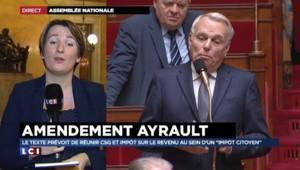 """Amendement Ayrault : pas de fusion entre la CSG et l'impôt sur le revenu mais un """"petit pas fiscal"""""""