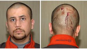George Zimmerman, pris en photo au poste de police après avoir abattu l'adolescent Trayvon Martin en Floride, le 26 février 2012