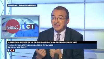 """Hervé Mariton : """"Je n'ai jamais été un courtisan de Nicolas Sarkozy"""""""
