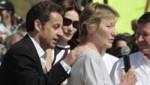 Marisa Bruni-Tedeschi et Nicolas Sarkozy en 2007.