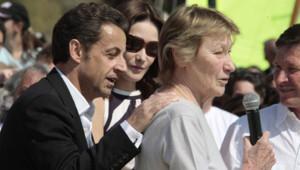 Nicolas Sarkozy, Marisa Bruni-Tedeschi et sa fille Carla en 2007